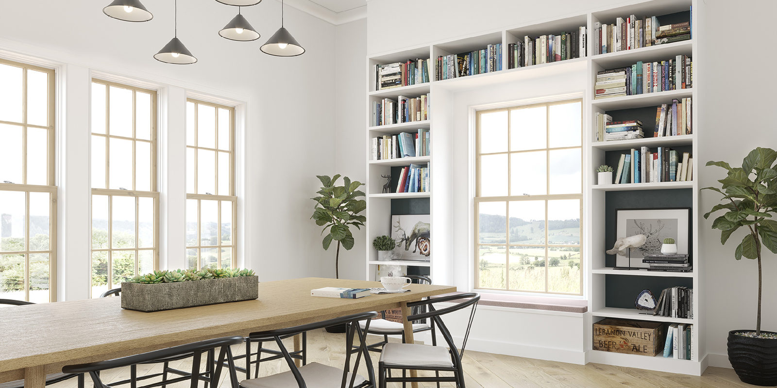 Elevate Double Hung Windows